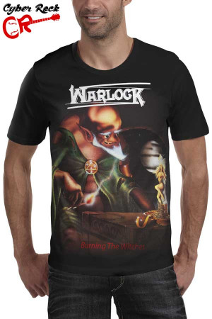 Camiseta Warlock Burning The Witches