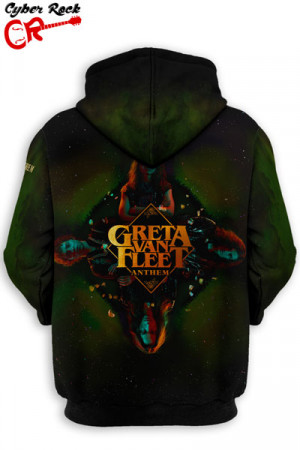Blusa Moletom Greta Van Fleet Anthem