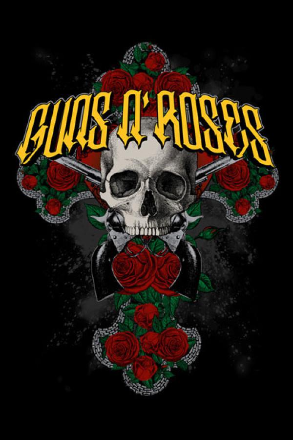 Blusinha Guns n Roses Skull