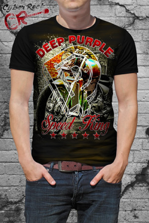 Camiseta Deep Purple Speed King