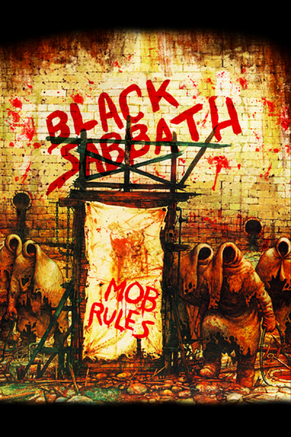 Blusinha Black Sabbath Mob Rules