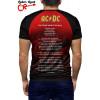Raglan manga curta AC DC About to Rock tz