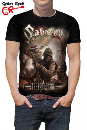 Camiseta Sabaton - The Last Stand Cover
