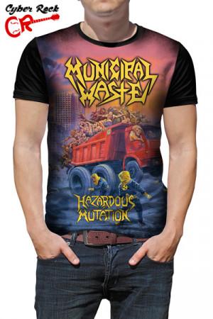 Camiseta Municipal waste mazardous Mutation