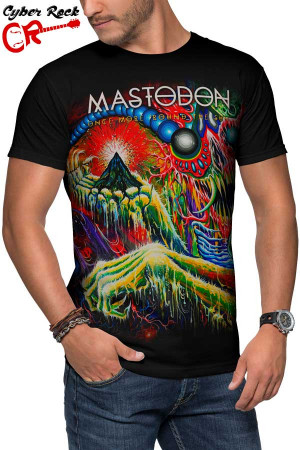 Camiseta Mastodon Once More Round the Sun