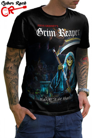 Camiseta Grim Reaper Walking in the Shadows