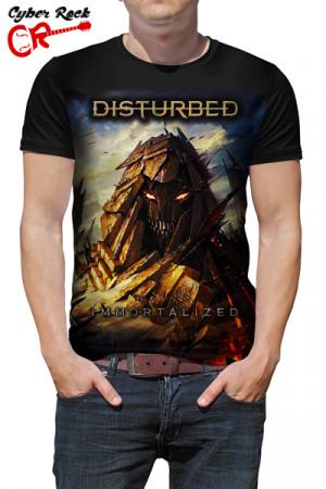 Camiseta Disturbed Immortalized