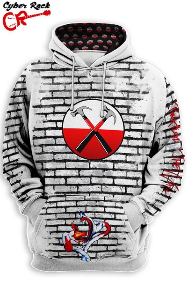 Blusa Moletom Pink Floyd The Wall