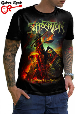 Camiseta Suffocation Pinnacle of Bedlam