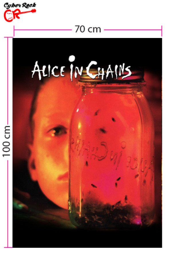 Bandeira Alice In Chains Jar Of Flies