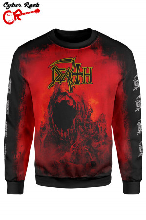 blusa moletom Death The Sound of Perseverance