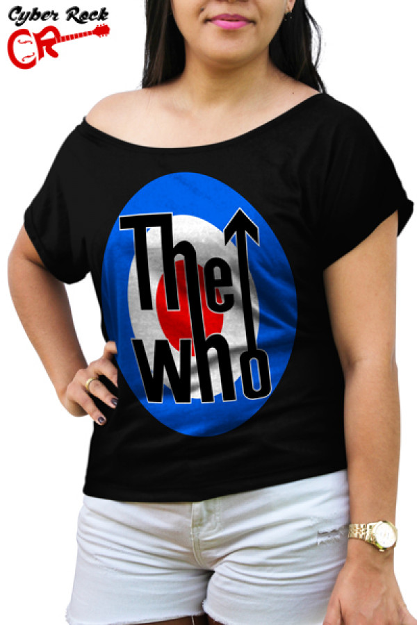 Blusinha The Who Logo