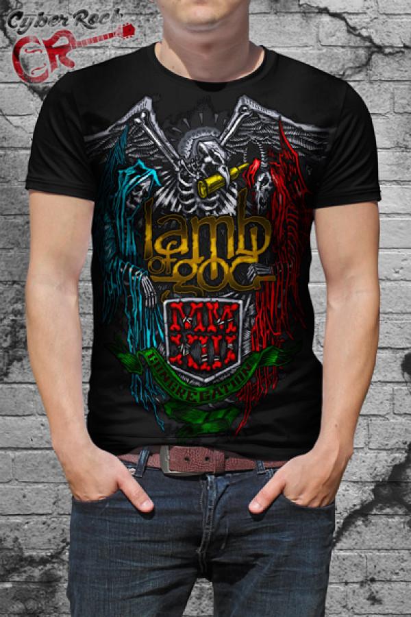 Camiseta Lamb of God MMXIII