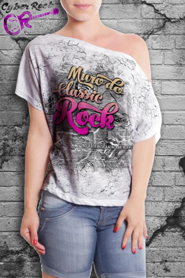 Blusinha Muro Classic Rock - BF-014