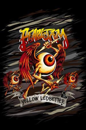Almofada Pearl Jam Yellow Ledbetter