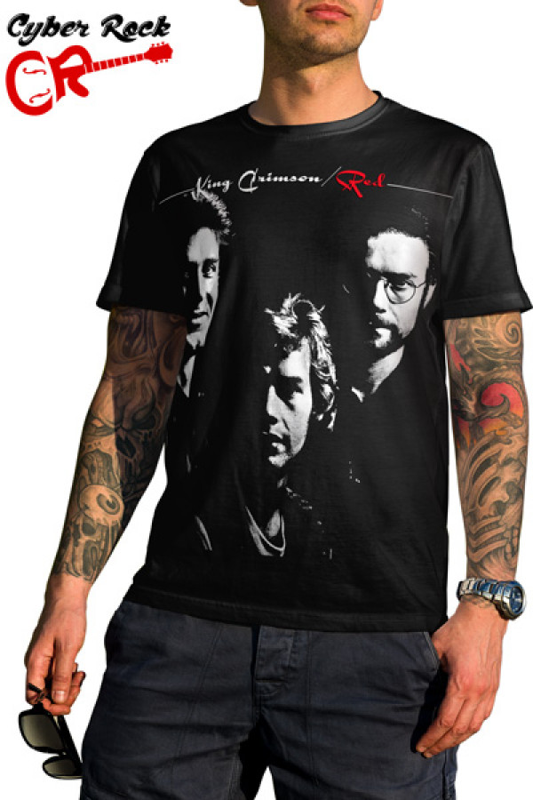 Camiseta King Crimson Red