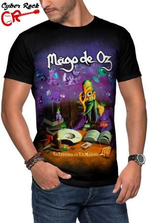 Camiseta Mägo de Oz La leyenda de La Mancha