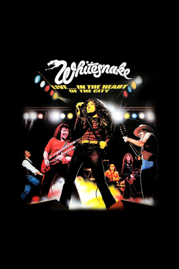 Regata Whitesnake Live In The Heart Of The City