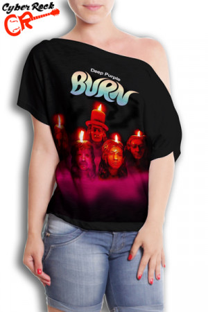 Blusinha Deep Purple Burn