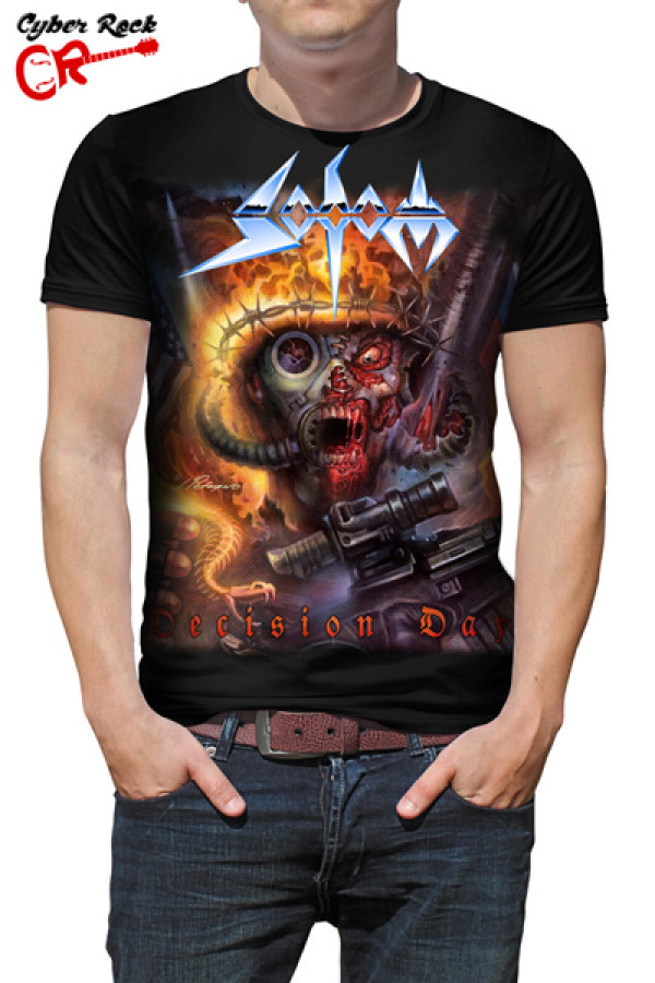 Camiseta Sodom Decision Day