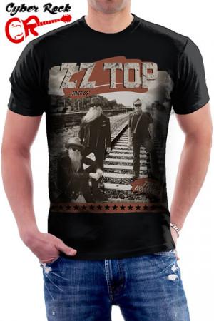 Camiseta  ZZ Top - Tres Hombres