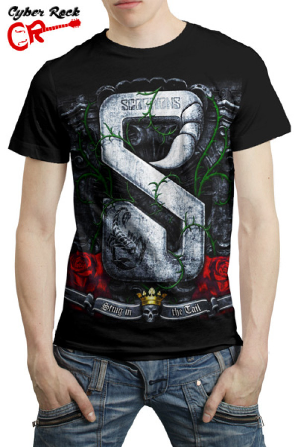 Camiseta Scorpions Sting In The Tail