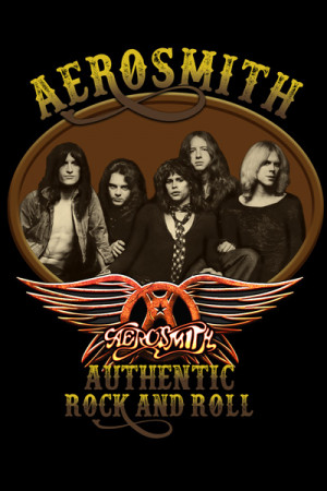 Camiseta Aerosmith - Authentic Rock and Roll