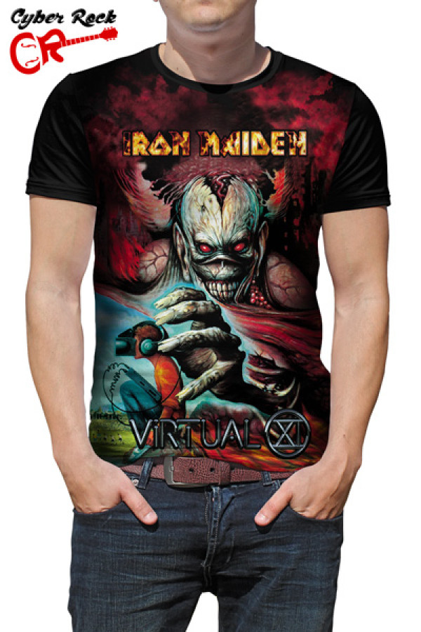 Camiseta Iron Maiden Virtual