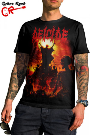 Camiseta Deicide to Hell With God