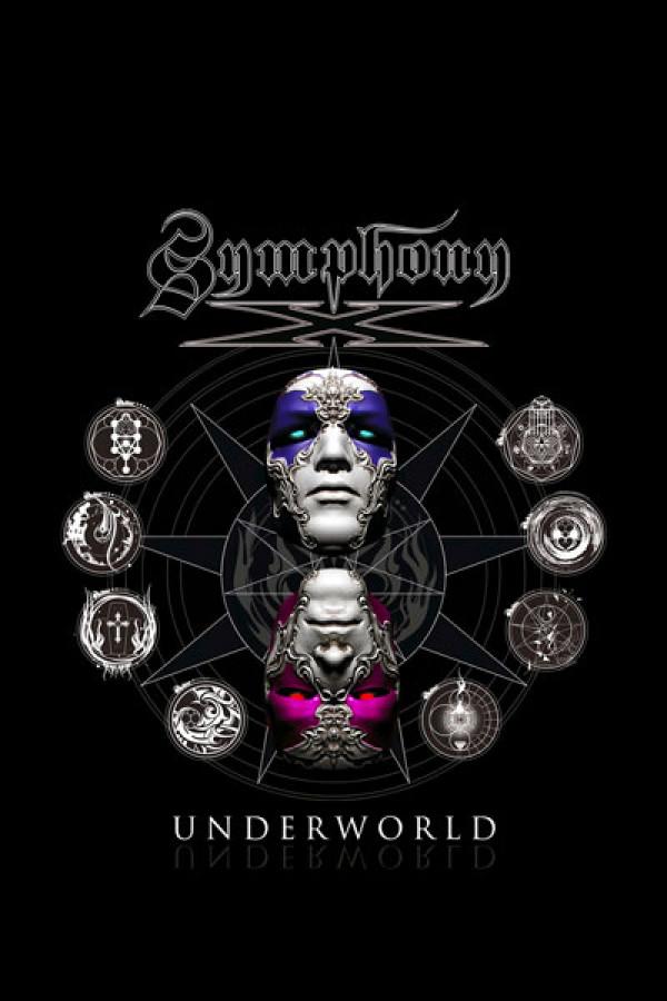 Camiseta Symphony X Underworld