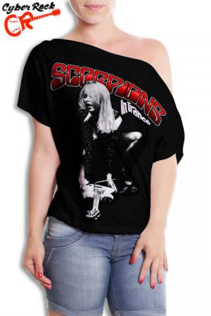 Blusinha Scorpions In Trance