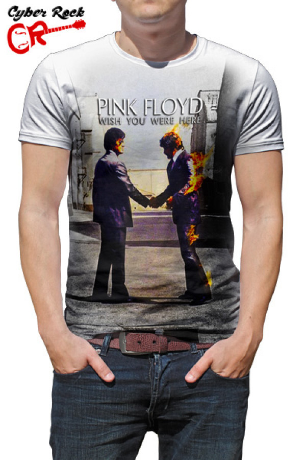 0312d1228b Camisetas de Rock e Heavy Metal. Camiseta Pink Floyd Wish You Were ...