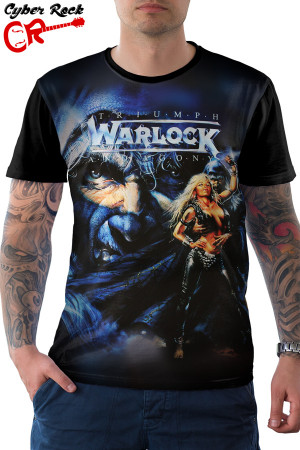 Camiseta Warlock Triumph and Agony