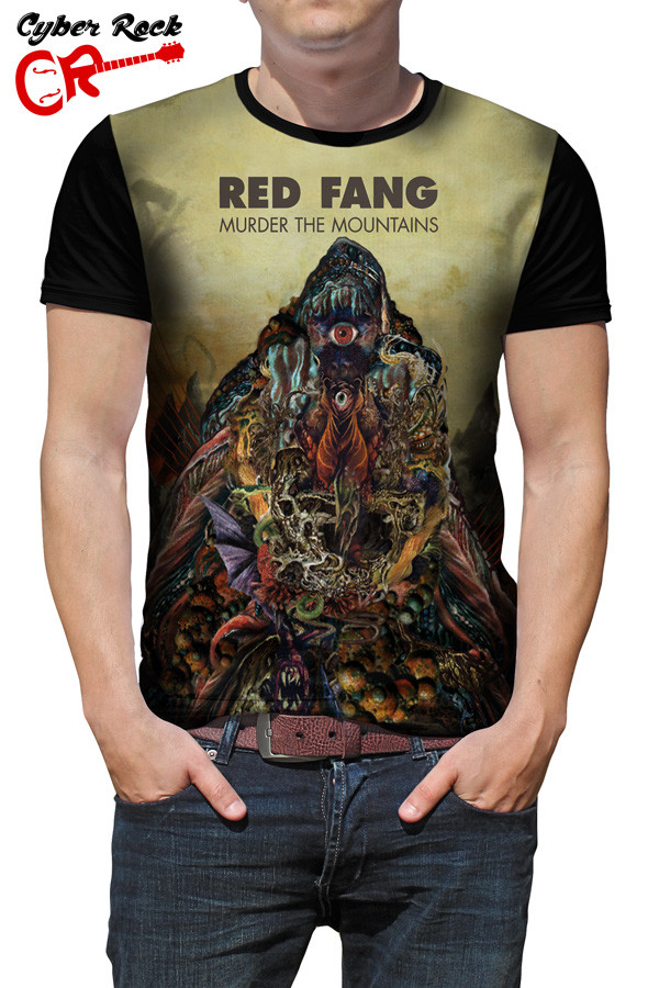 Camiseta Red Fang Murder the Mountain