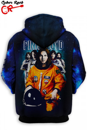 Blusa Moletom Pink Floyd Space