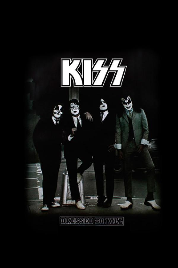 Camiseta KISS - Dressed To Kill