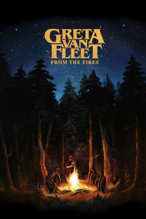 Blusinha Greta Van Fleet From the Fires
