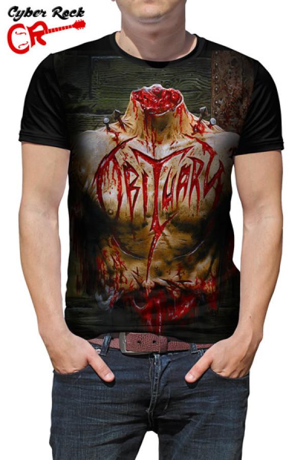 Camiseta Obituary Inked In Blood