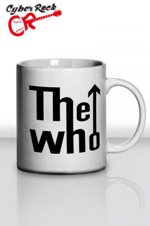 Caneca The Who Logo