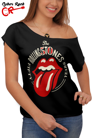 blusinhas Rolling Stones Fifty Years