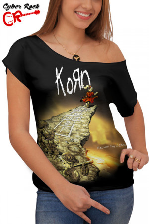 Blusinha Korn Follow The Leader