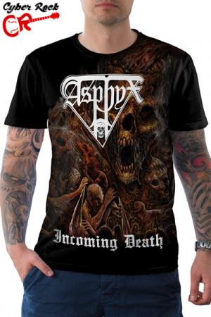 Camiseta Asphyx Incoming Death
