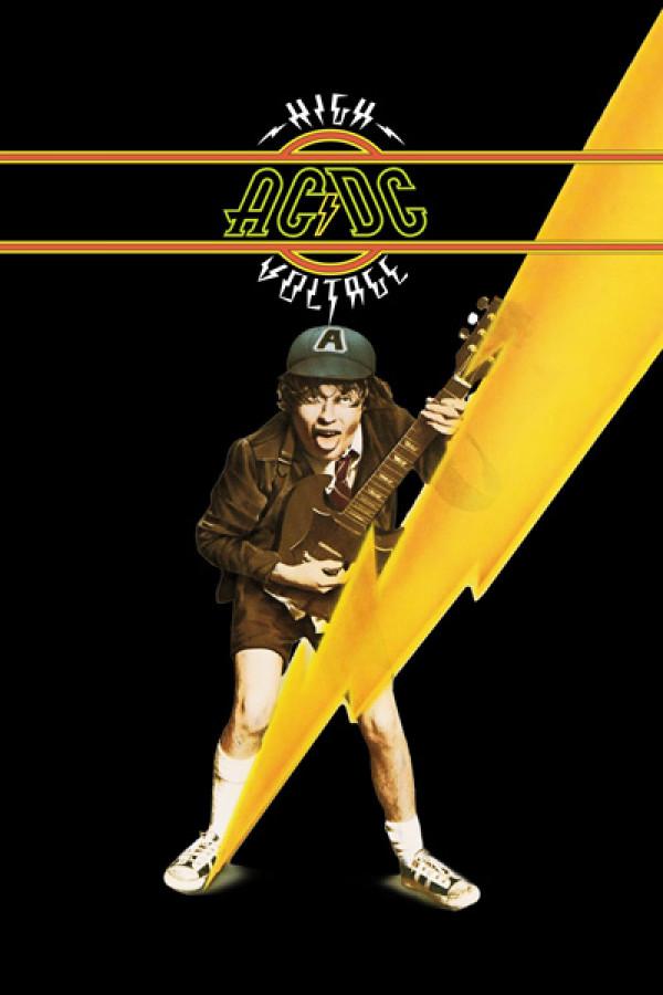 Blusinha  AC/DC High Voltage