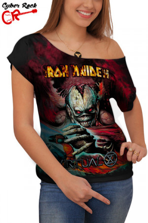 Blusinha Iron Maiden Virtual Xi