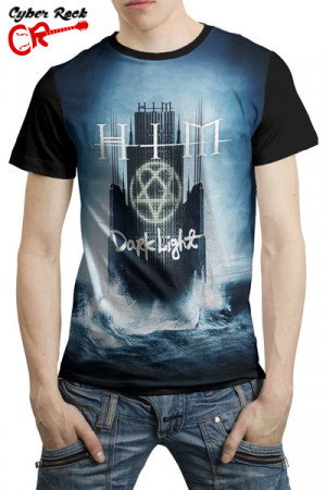 Camiseta HIM Dark Light