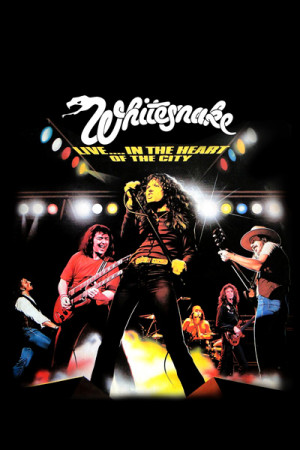 Camiseta  Whitesnake - Live...in the Heart of the City