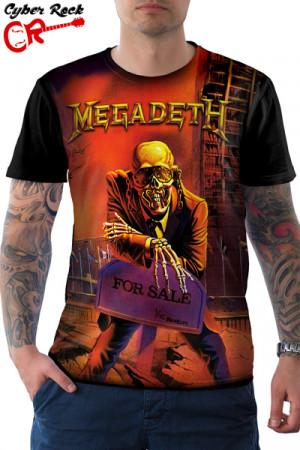 Camiseta Megadeth For Sale