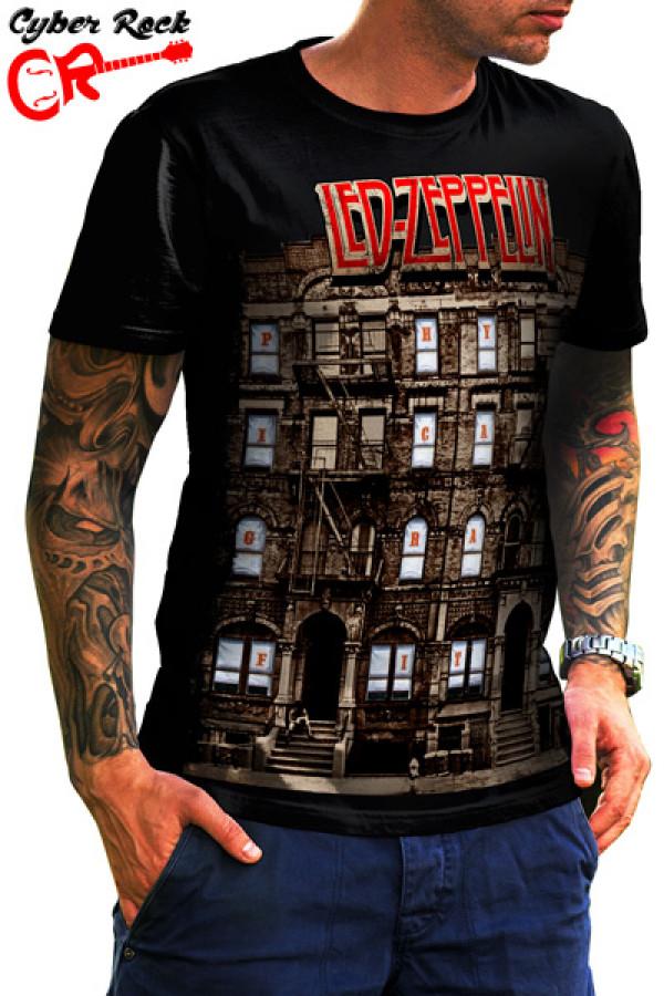 Camiseta Led Zeppelin Physical Graffiti