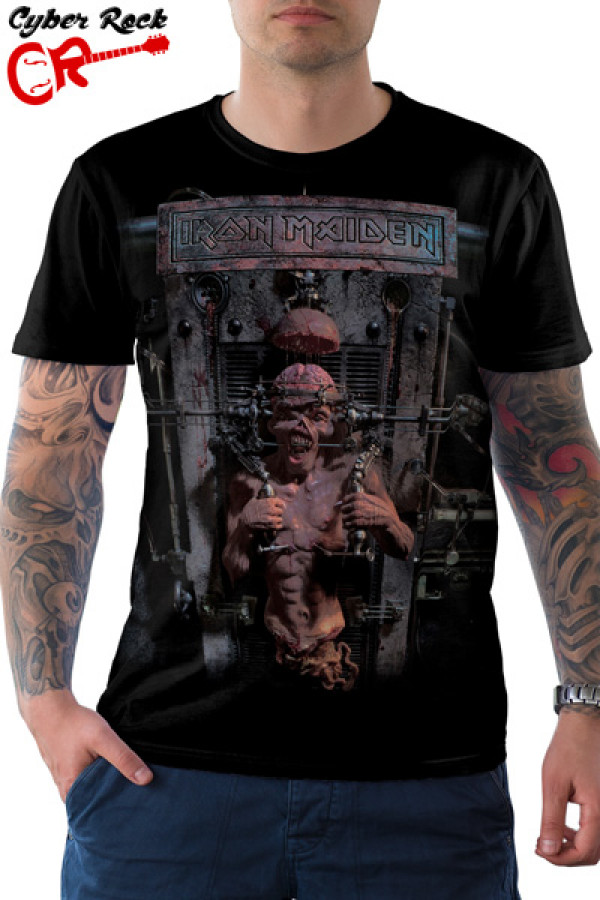Camiseta Iron Maiden X Factor
