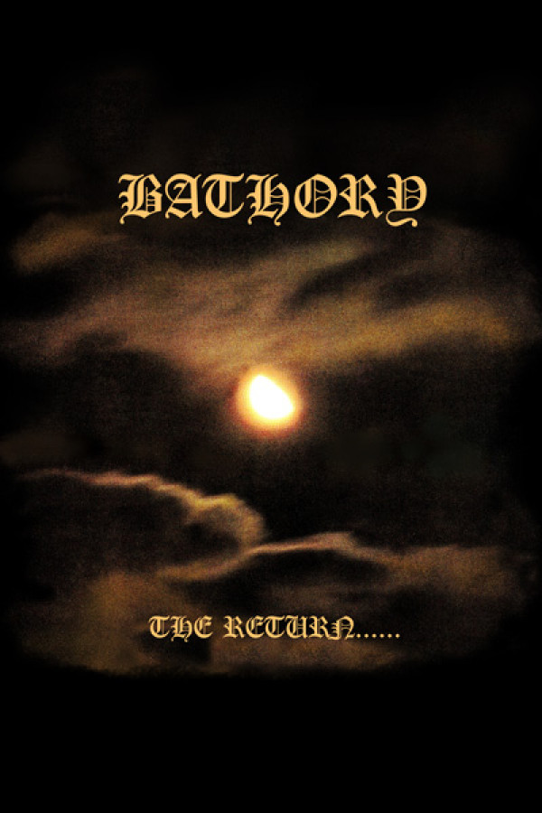 Camiseta Bathory - The Return